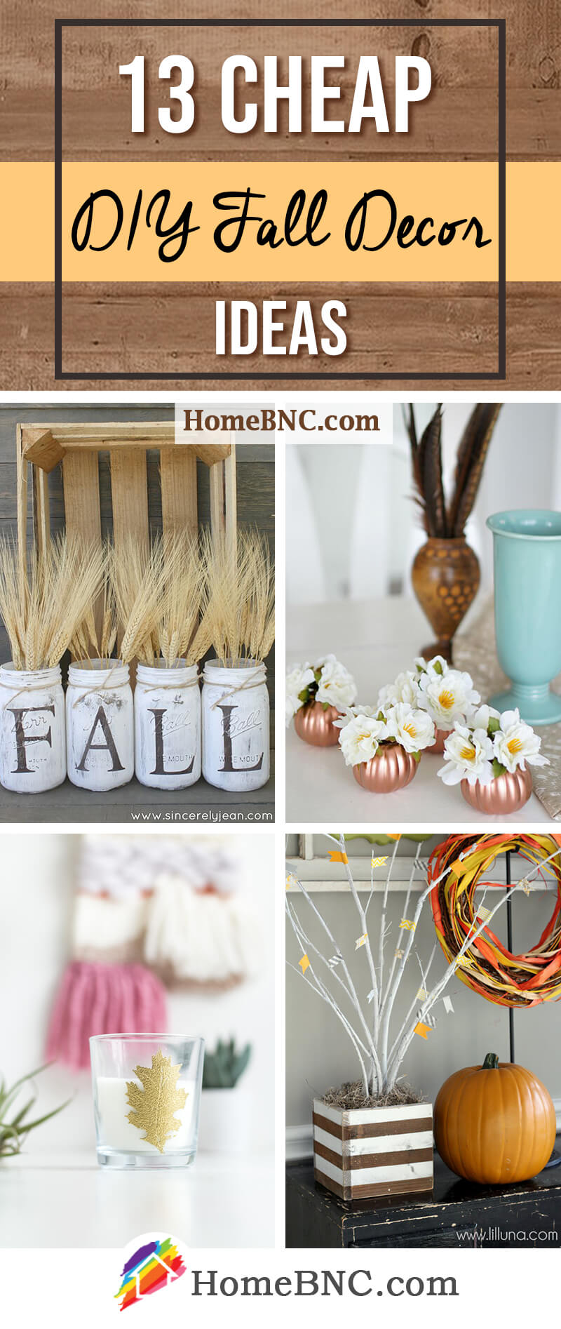 13 Best Cheap Diy Fall Decor Ideas And Designs For 2021