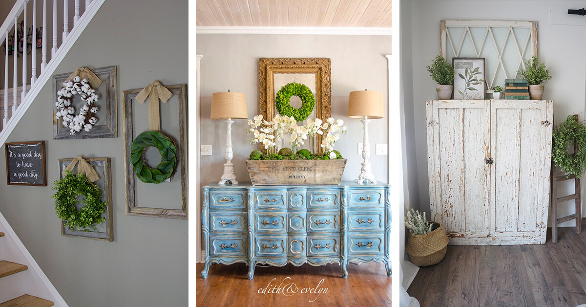 12 Best Decorating Ideas with Rustic Frames for 2019