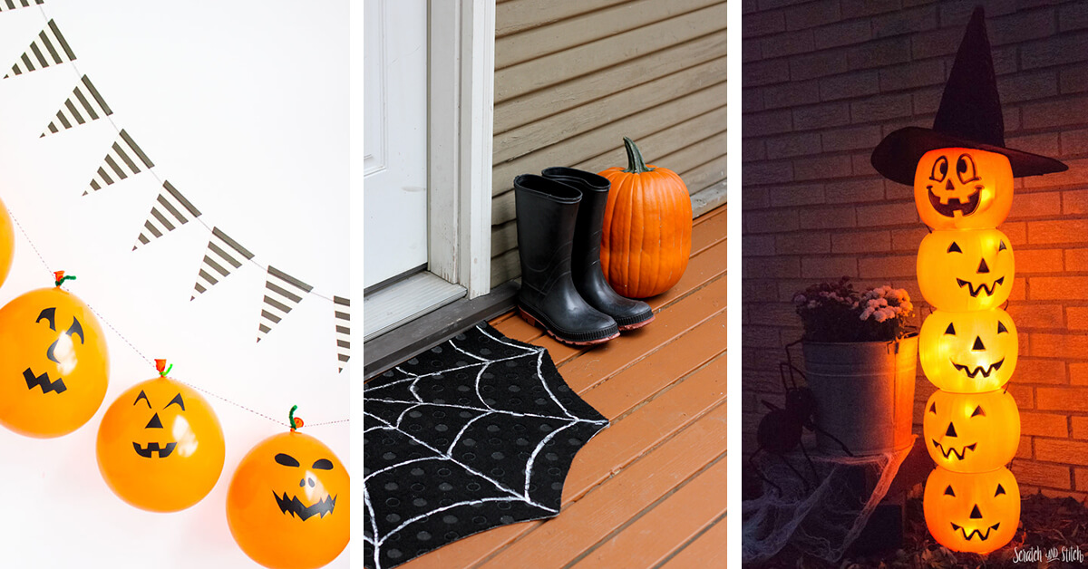 12 Best DIY Dollar Store Halloween Decoration Ideas and Designs