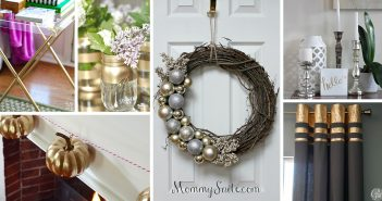 DIY Silver and Gold Decorations