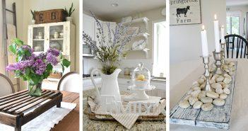 Farmhouse Style Centerpieces