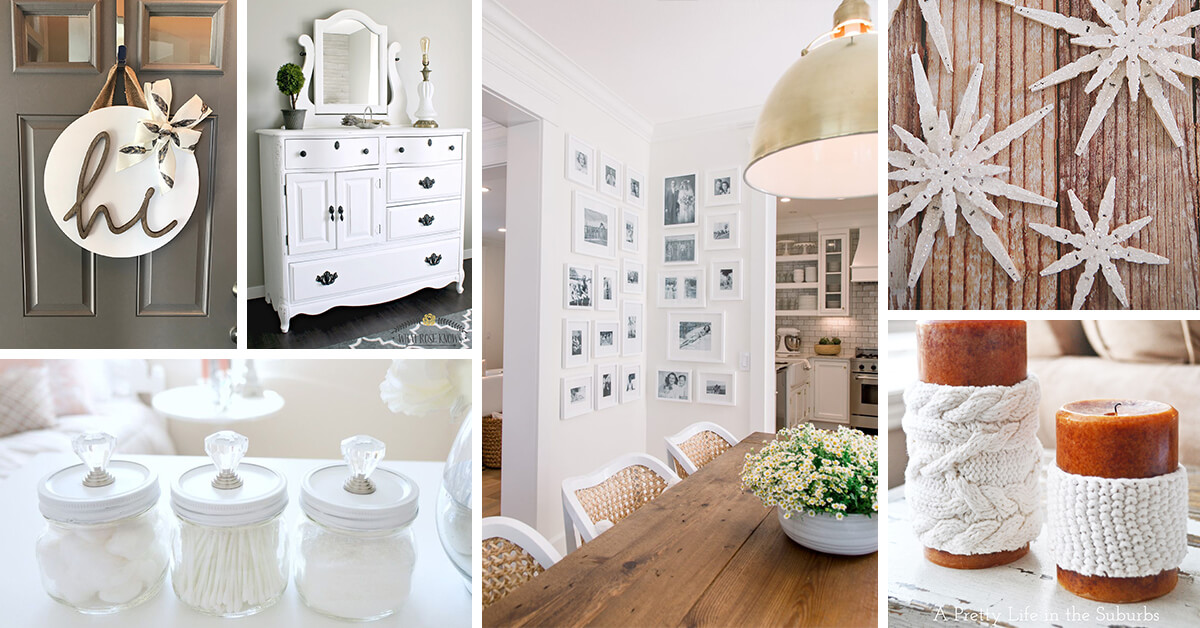 Perfect 12 Breathtaking White Home Decor Ideas To Get That Wow Factor