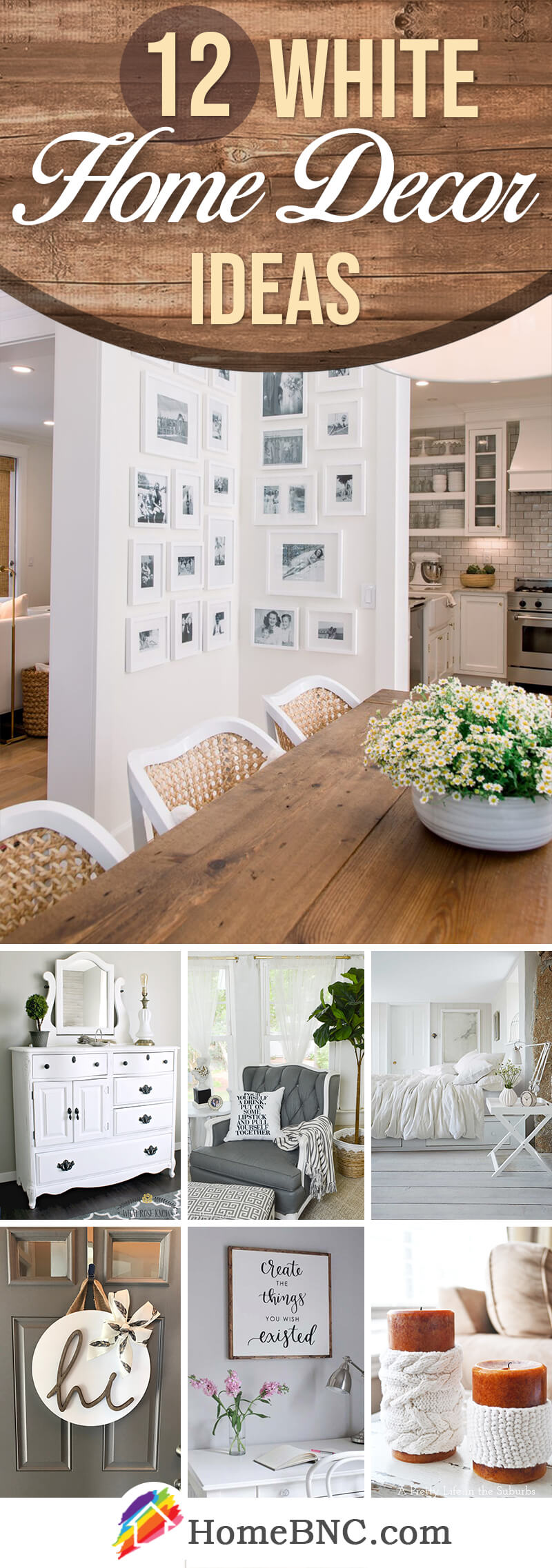 White Home Decor Ideas