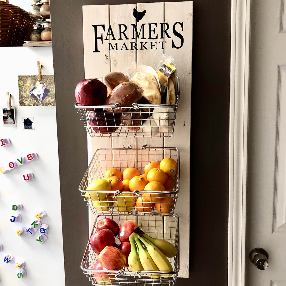 The Framer's Market Wall Baskets