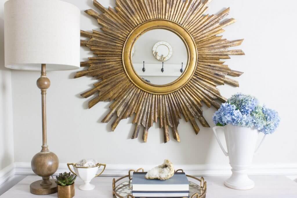 Golden Sunburst Has Timeless Look