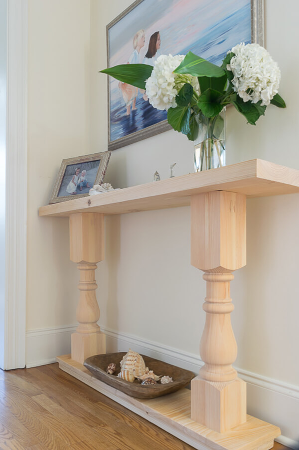 Smooth and Sandy Hallway Console