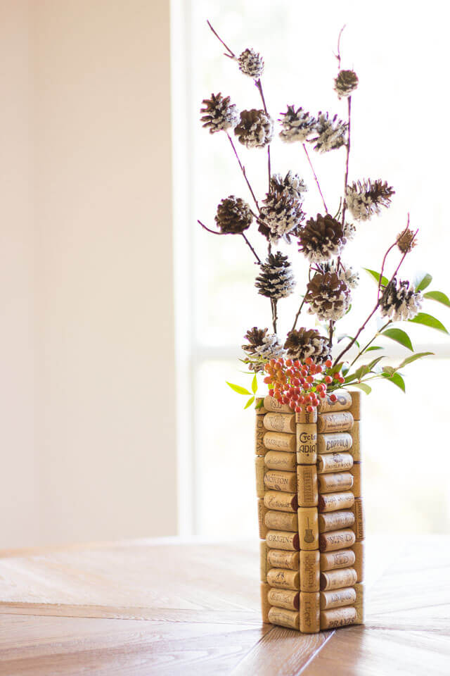 A Unique and Earthy Flower Vase
