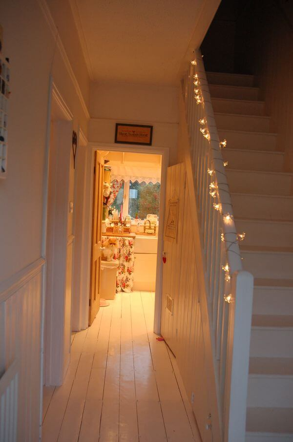 Lighting the Way to the Top of the Stairs