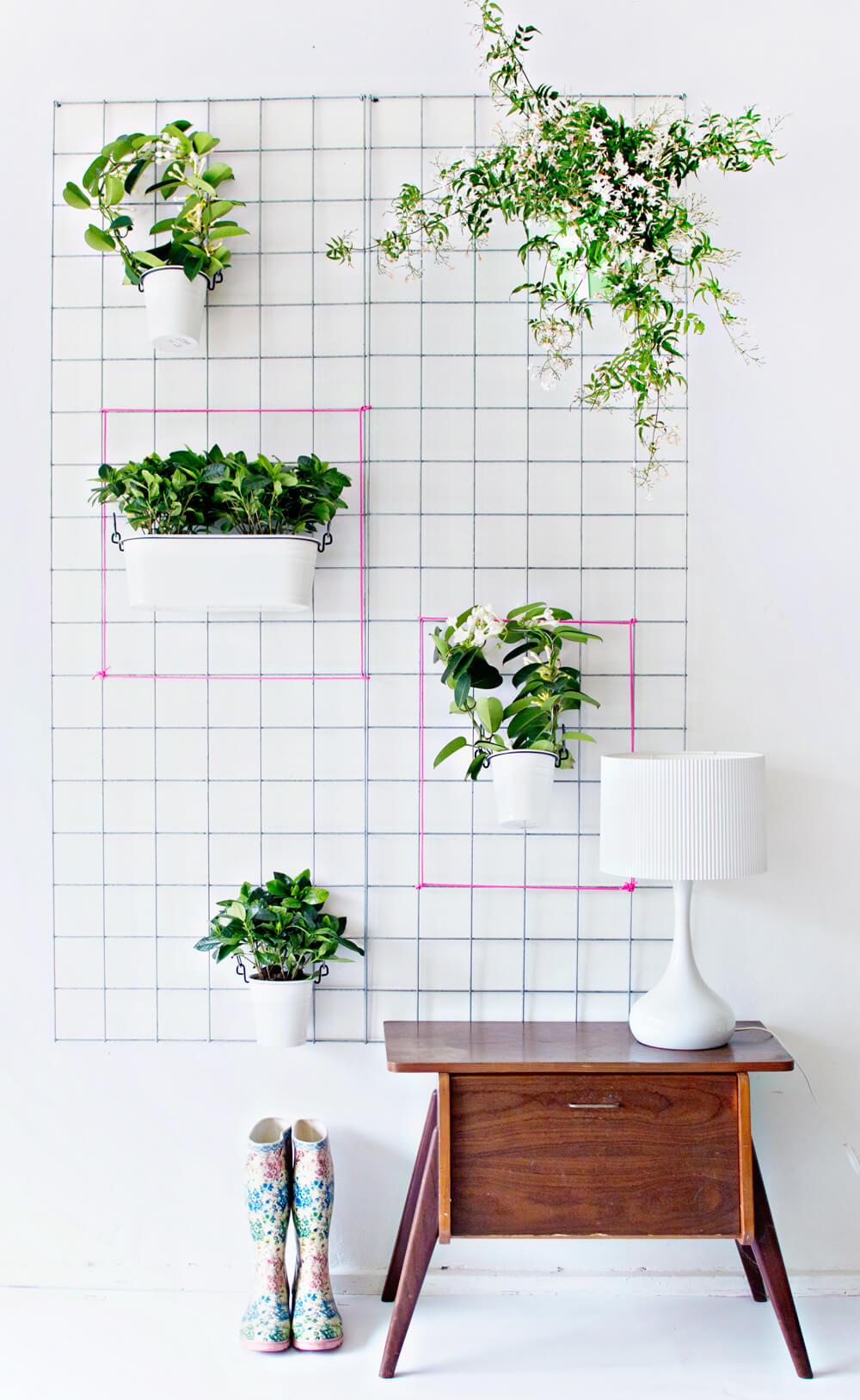 Trendy Wall Planters In Geometric Shapes