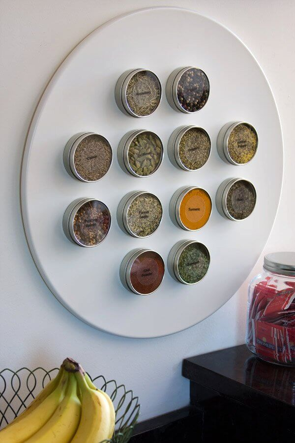 Put a New Spin on Spice Racks