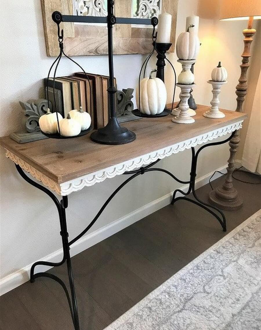 Gothic-Inspired Autumnal Console