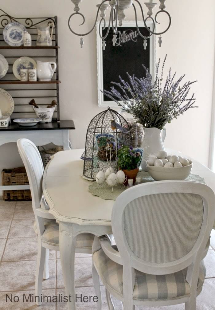 Romantic Birdcage and Lovely Lavender