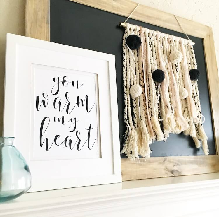 Handmade Crafts and a Lovely Message