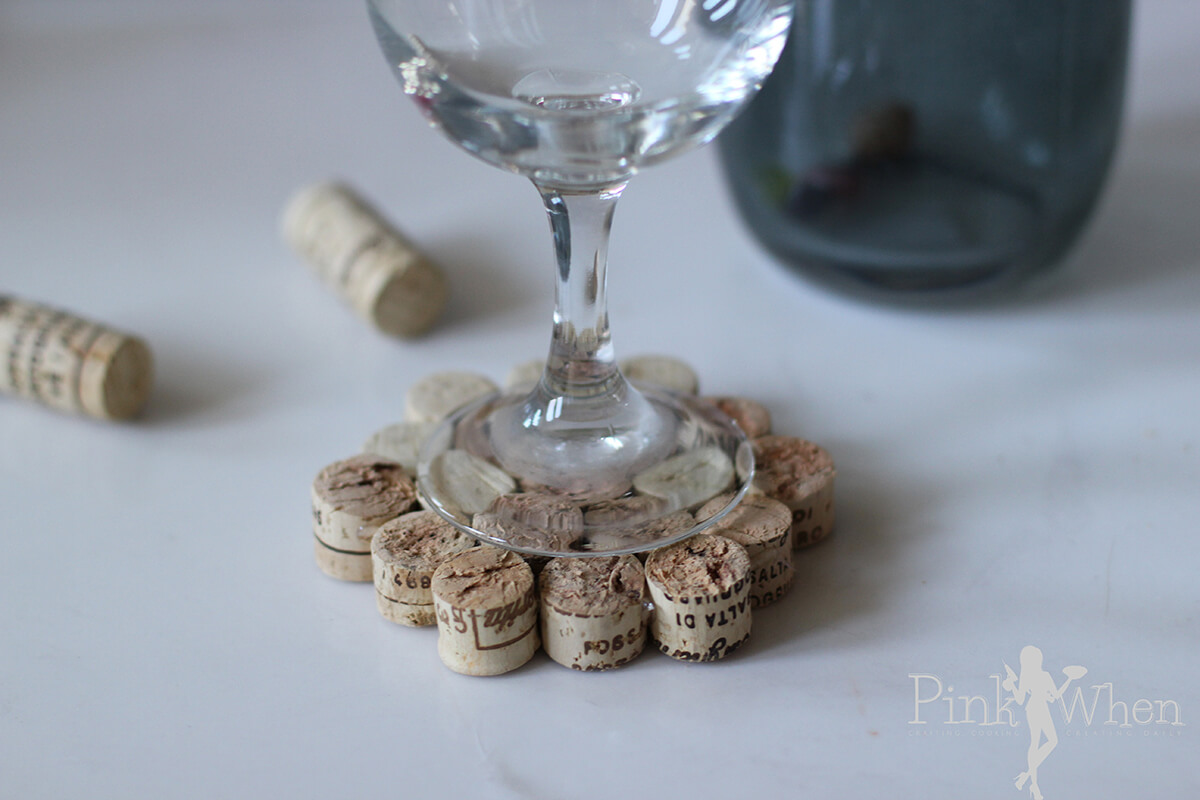 A Wine Coaster for Wine Glasses