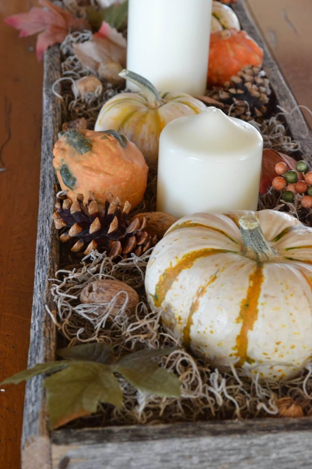 Quintessential Fall Centerpiece
