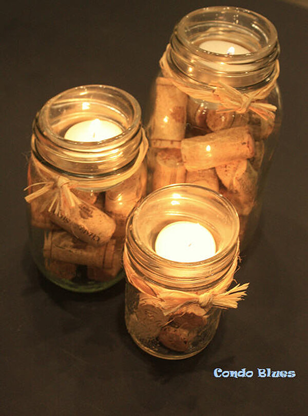 Candles and Corks Can Mix