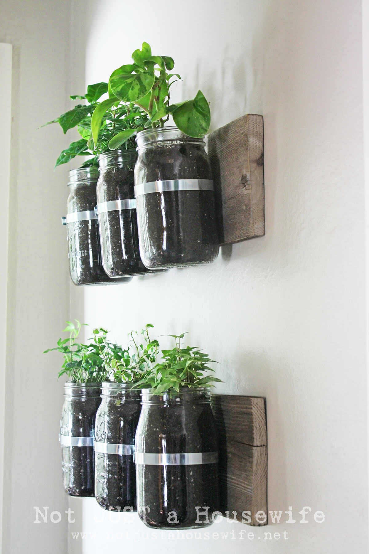 Hanging Mason Jar Vases for Crafty Fun