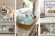 Console Table Decorations
