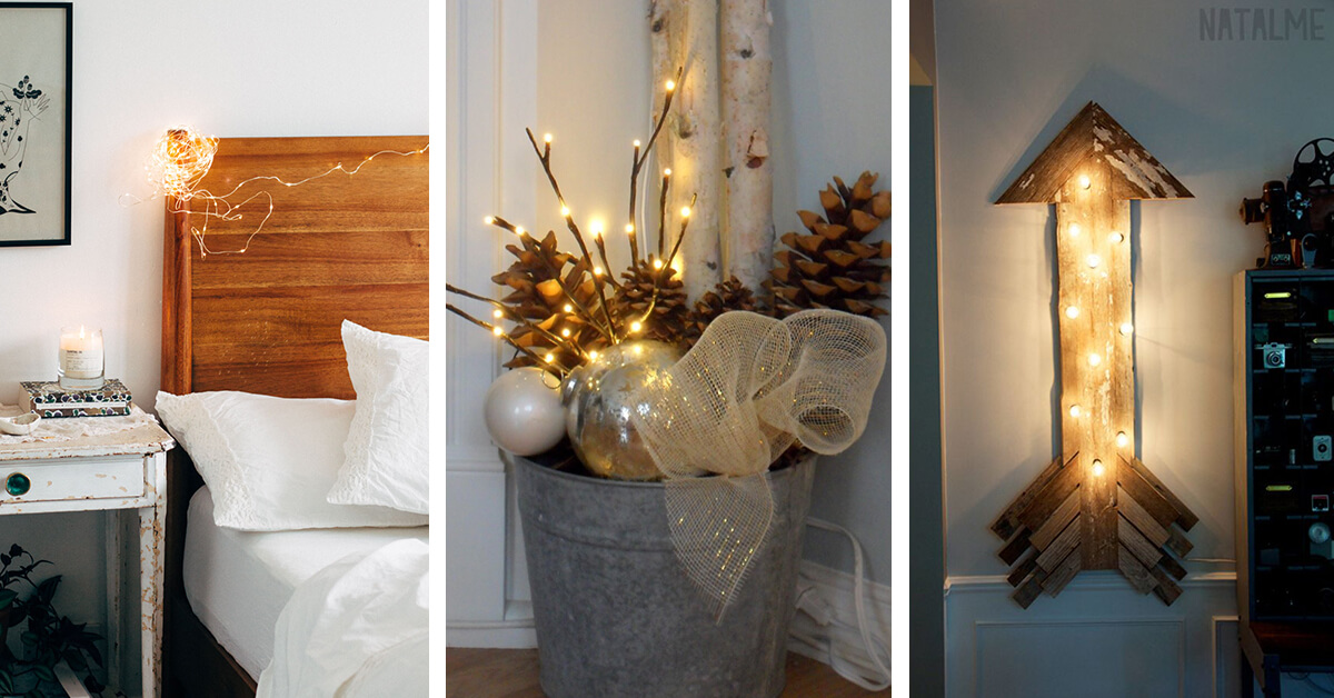14 Best Ideas For Decorating Your Rooms With Lights In 2019