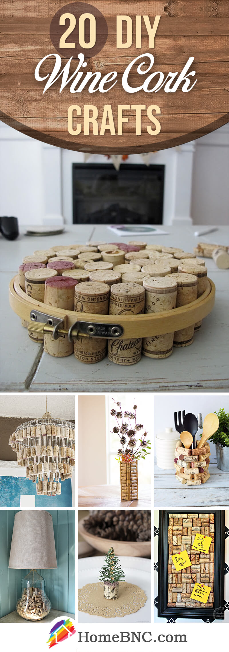 DIY Wine Cork Craft Ideas