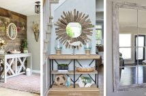 Entryway Mirror Designs
