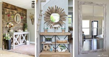Entryway Mirror Designs