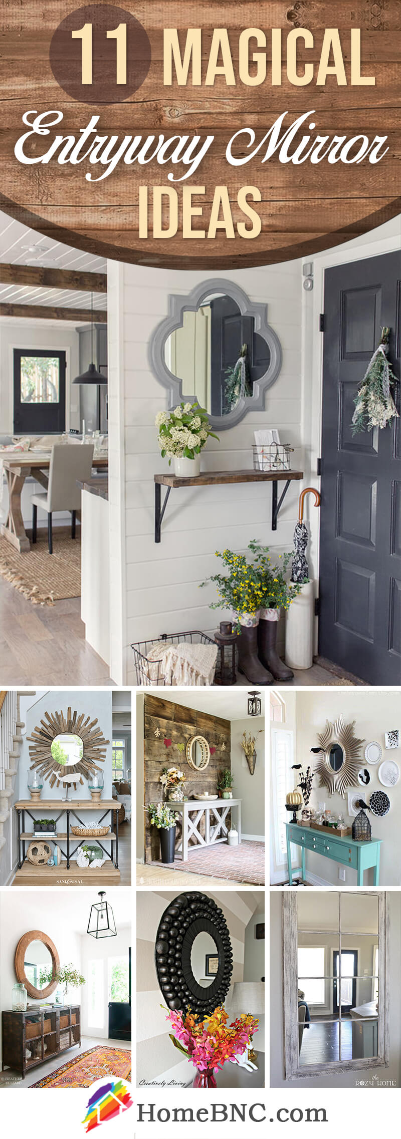 11 best entryway mirror ideas and designs for 2019 - Best foyer colors 2018 ...