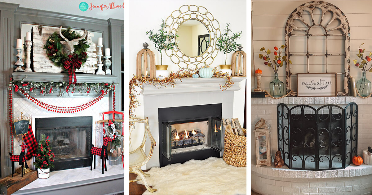 19 Best Fireplace Decor Ideas And Designs For 2020