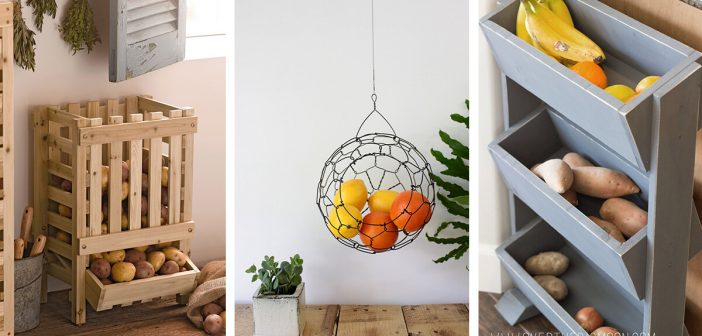 14 Best Fruit And Vegetable Storage Ideas For 2019