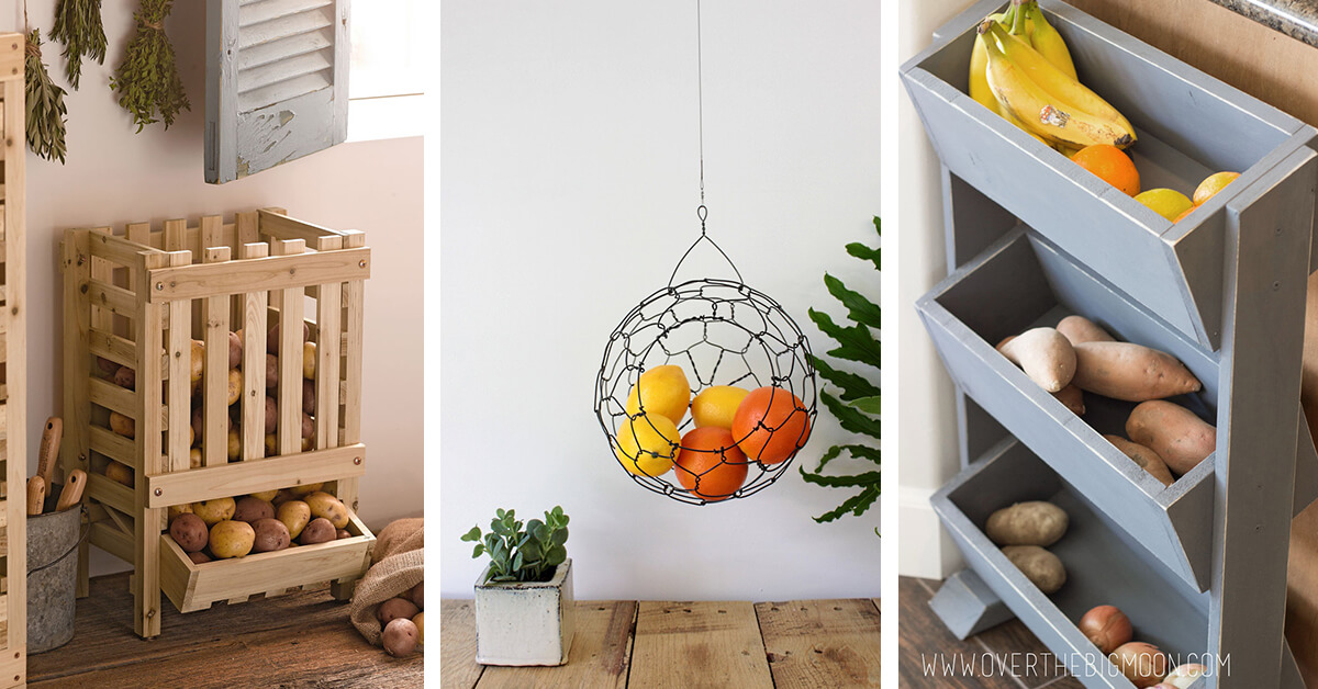 Vegetable Stand Designs : Best fruit and vegetable storage ideas for