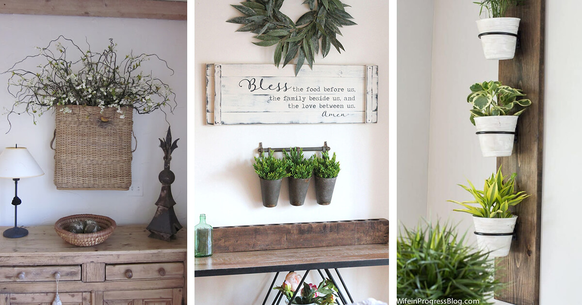 24 Best Hanging Wall Vase And Planter Ideas For 2019