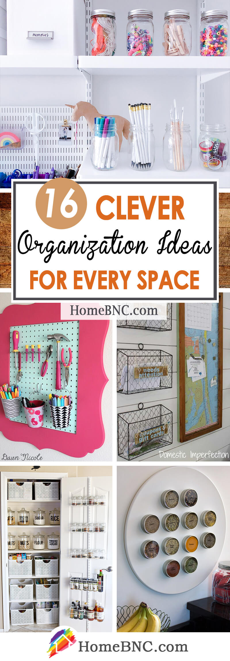 Organization Ideas for Every Space