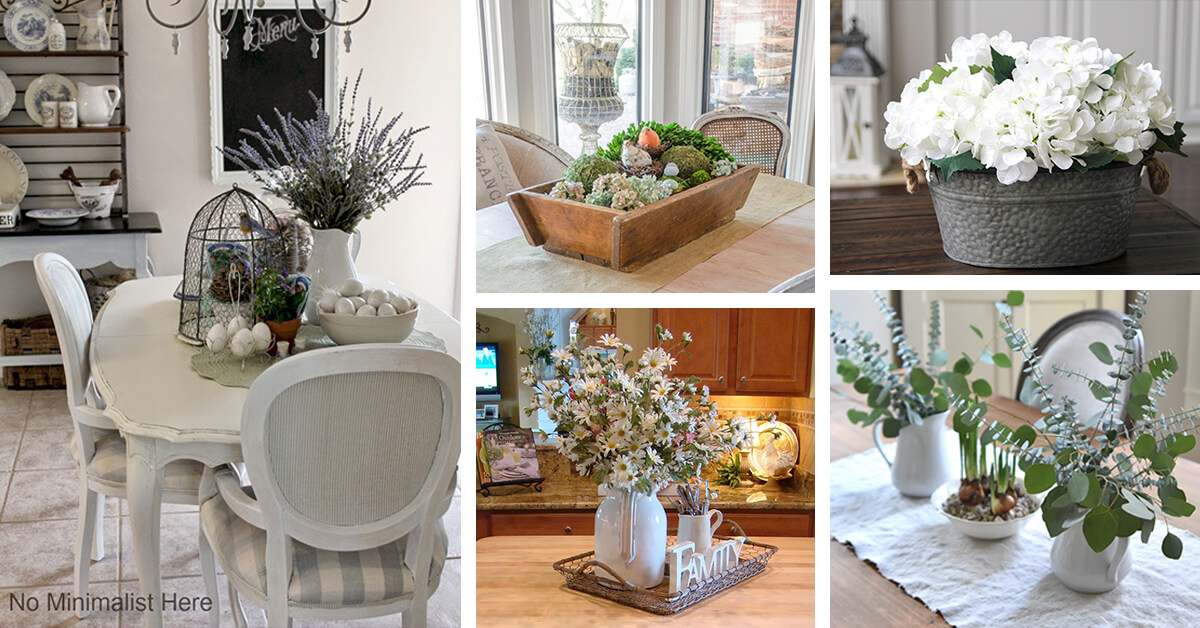 16 Best Rustic Centerpiece Ideas And Designs For 2020