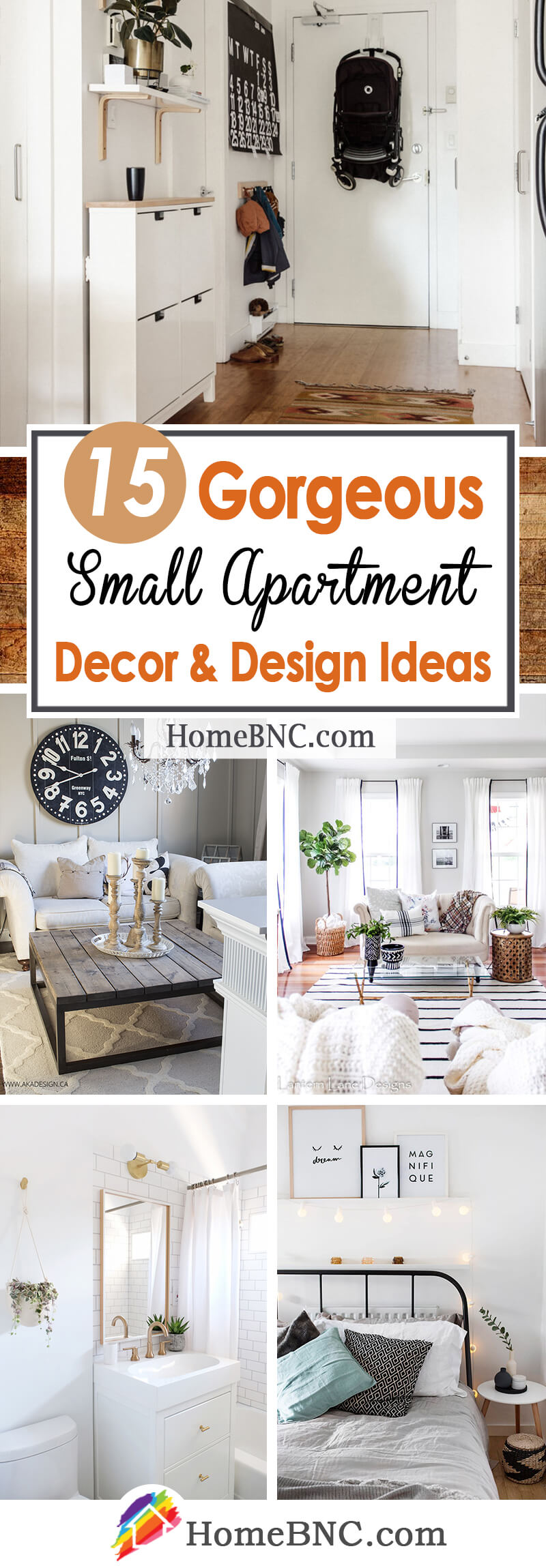 15 Best Small Apartment Decor and Design Ideas for 2019