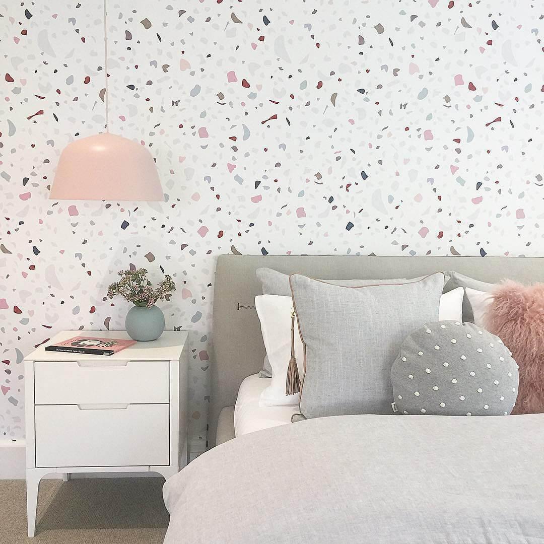 Modern Granite Wallpaper Decor Idea