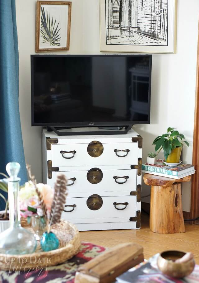 Boho Chic Trunk TV Stand