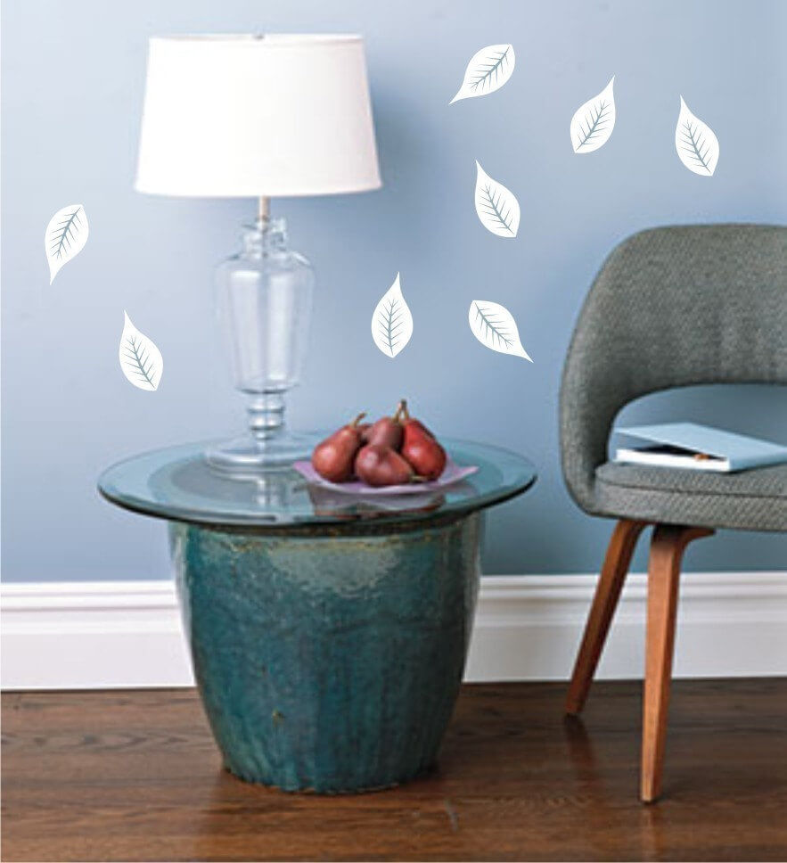 Birch Tree Leaf Wall Stickers
