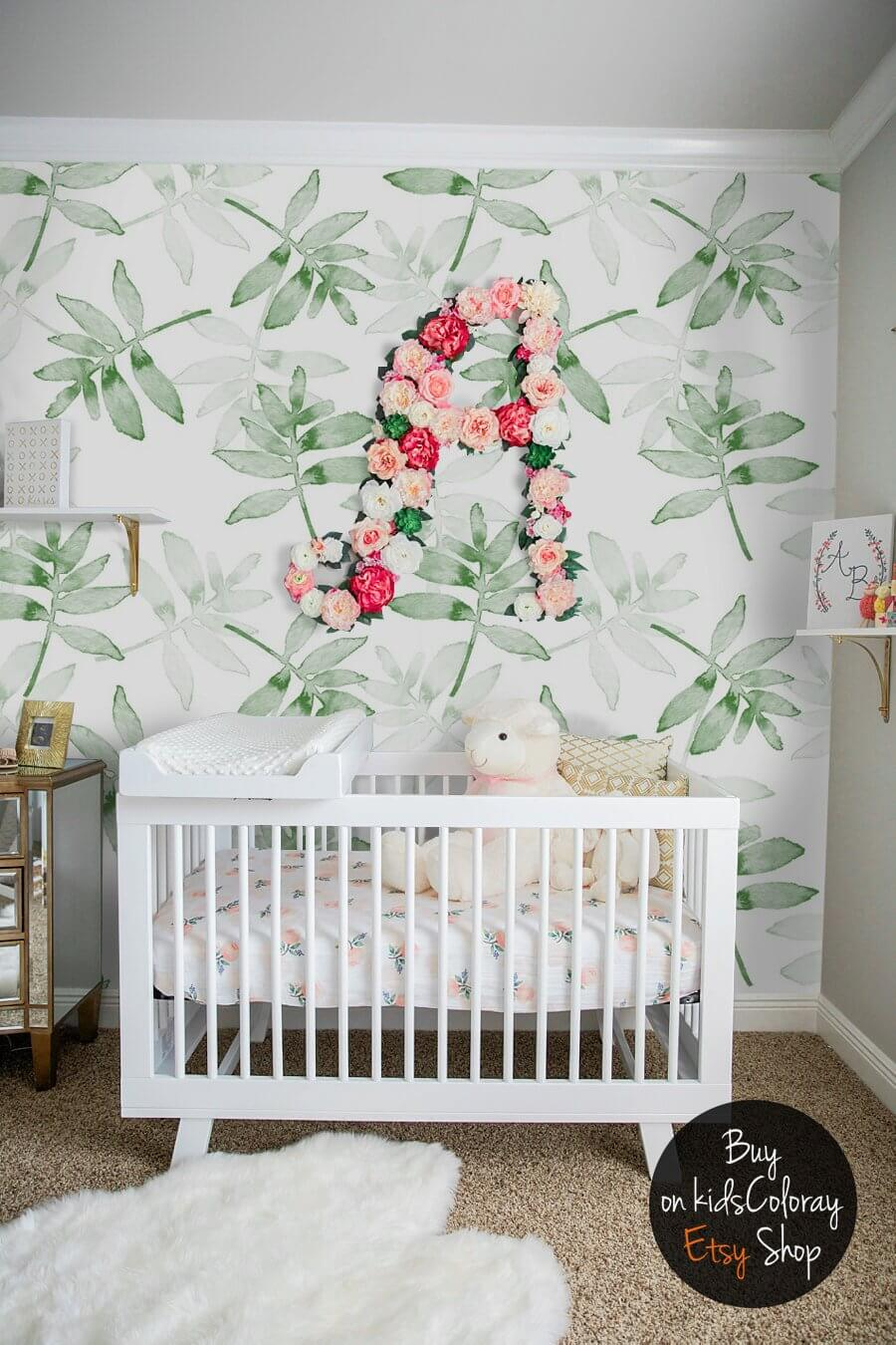 The multitude of Tropical Leaves Wallpaper