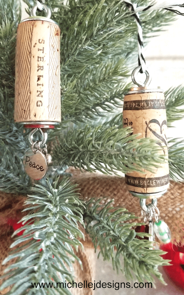 Wine Cork Adornment for the Tree