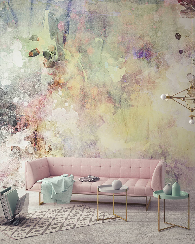 Eye-catching Watercolor Walldecor Idea