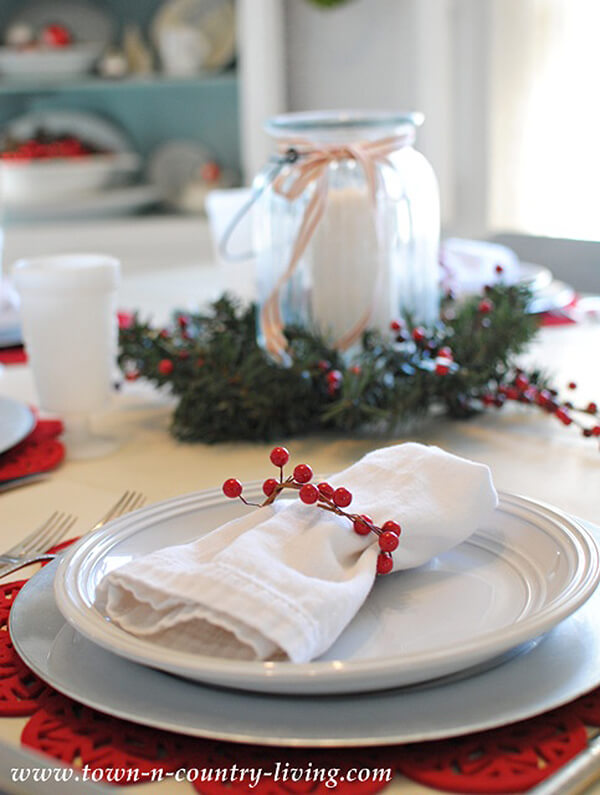 A Simple Arrangement of Red and White