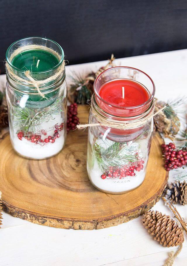 15 Best Mason Jar Table Decoration and Centerpiece Ideas ...