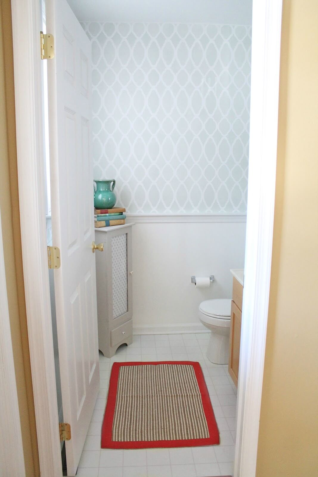 Updating Even a Small Powder Room Can Be Done in Stages