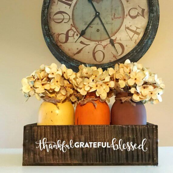 A Thankful, Grateful & Blessed Centerpiece