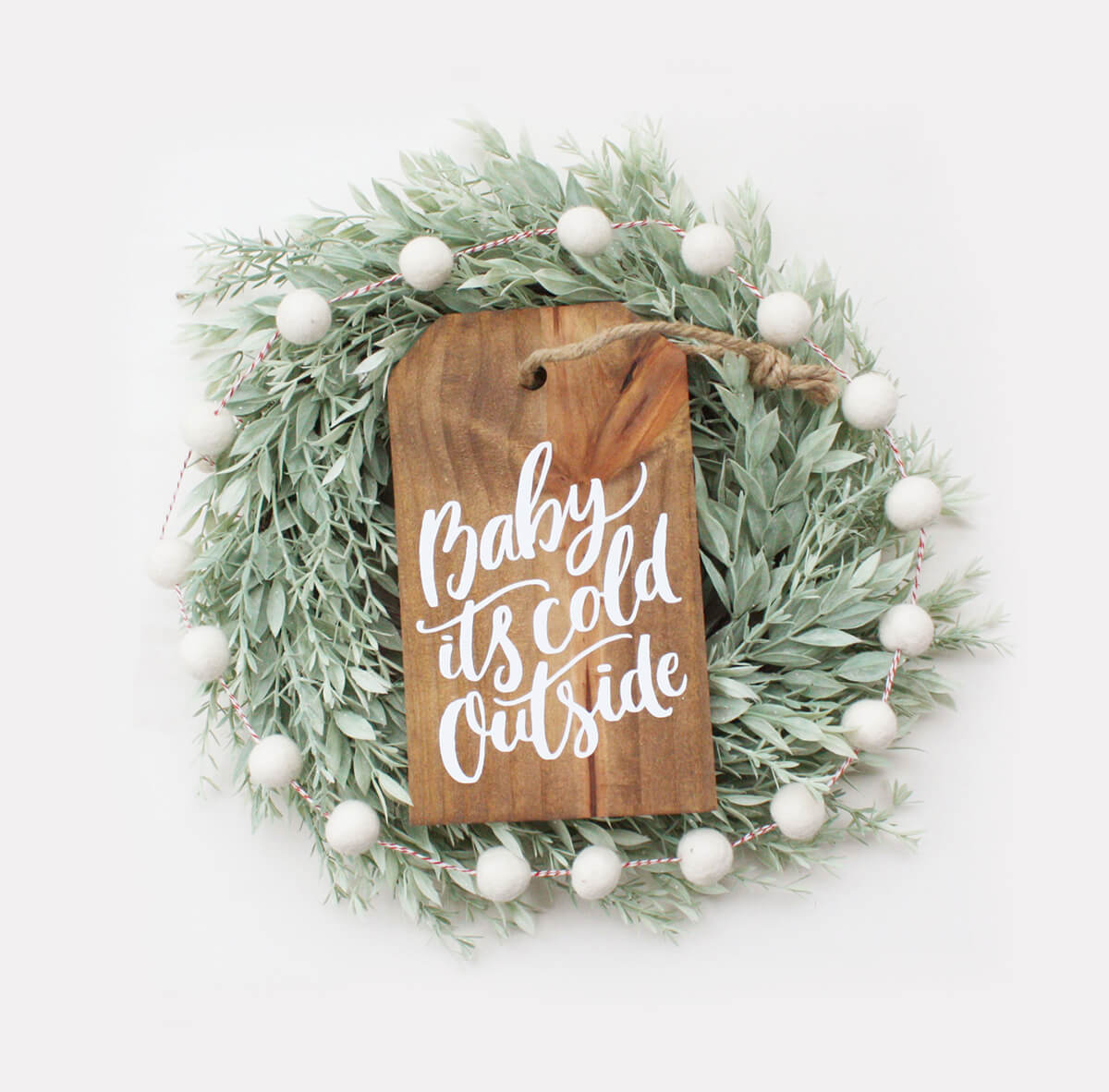 Christmas Sign Christmas Decor Wood Porch Decor Rustic Holiday Sign Baby It/'s Cold Outside Christmas Porch Sign Holiday Wood Sign