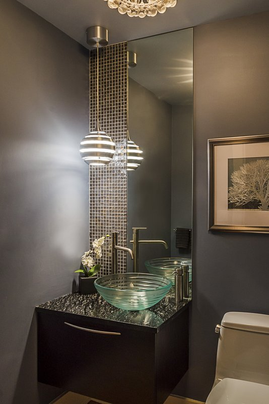 Modern Design with Rich Metallics and Luminous Accents