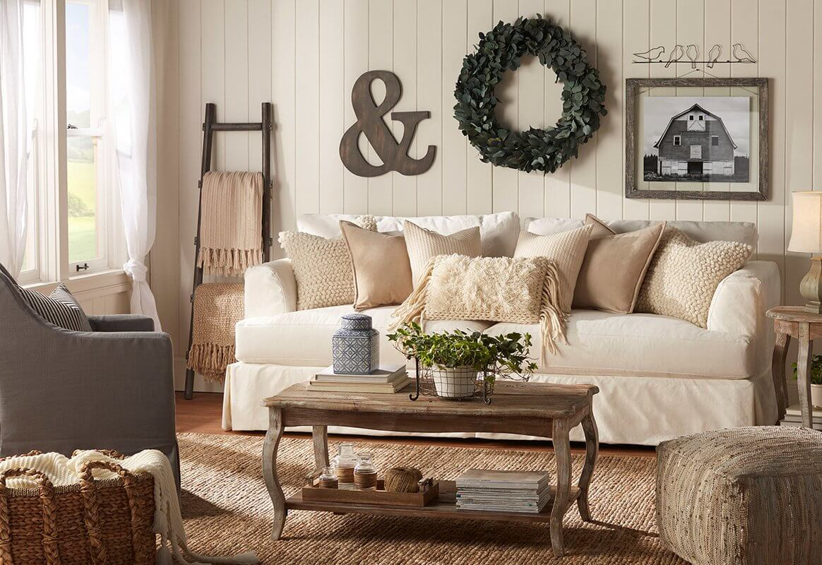 Lovely and Contemporary Rustic Chic Home Décor