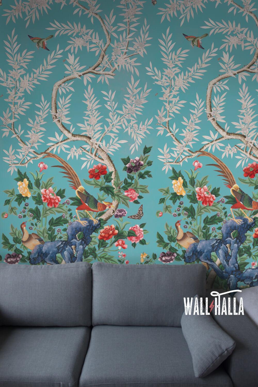 Vivid Flourishing Blossom Vintage Wall Decals