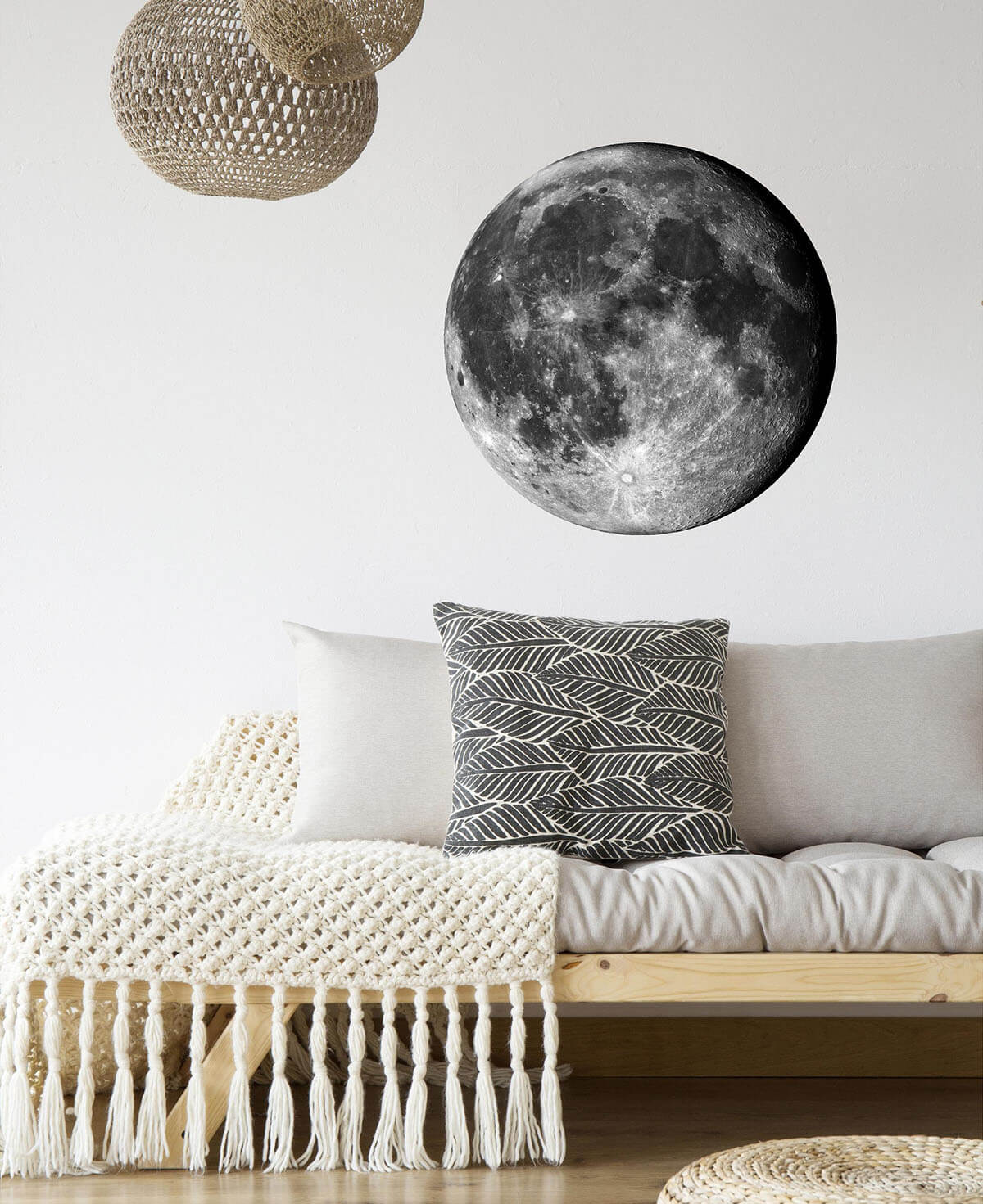 Capturing the Moon Wall Art