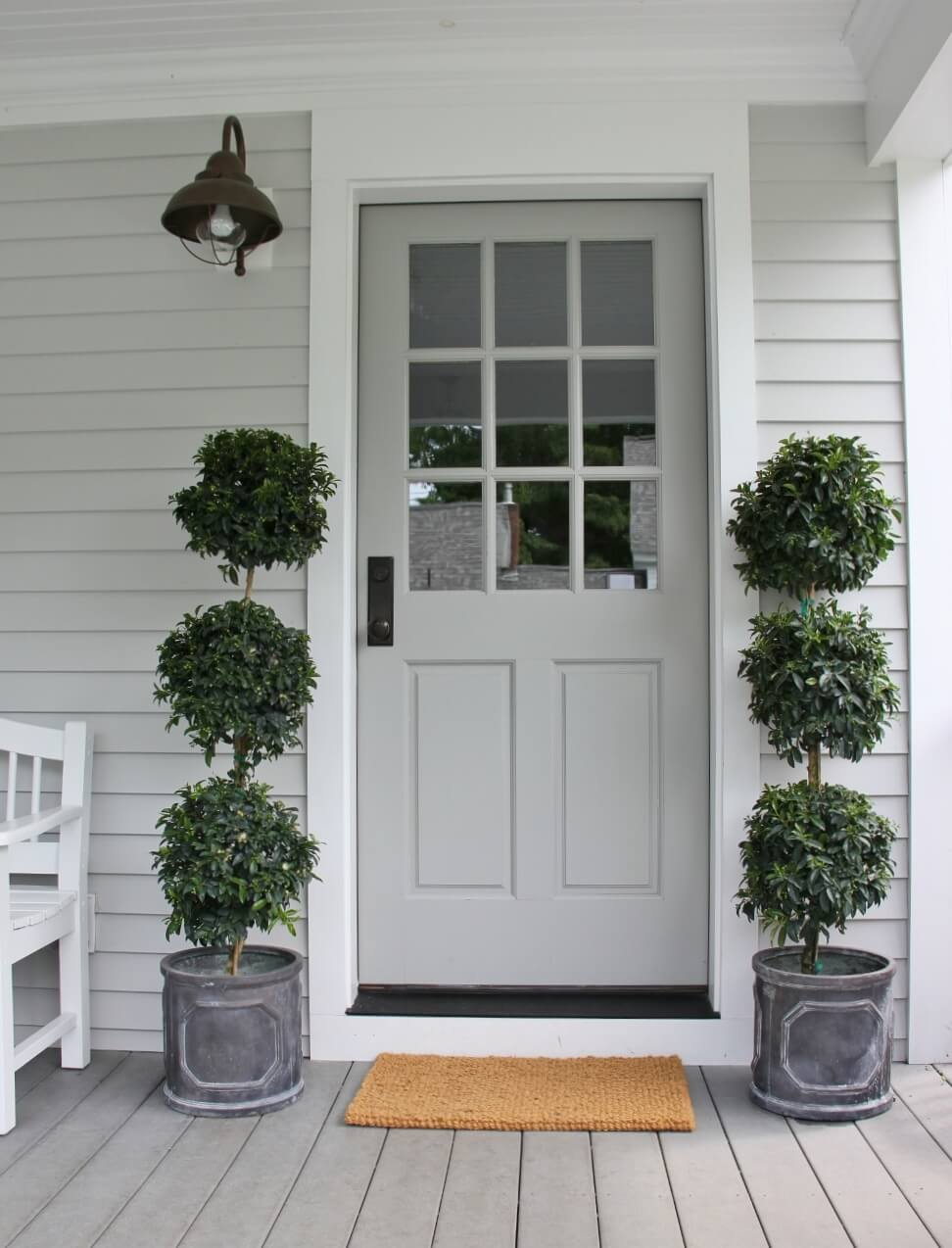 Using Light Grey to Accent Your Home's Exterior